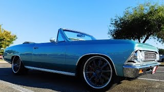 1966 Chevrolet Chevelle Convertible 2016 Cruisin' The Coast