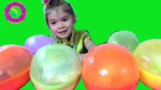 Bé Peanut Mở 6 Trứng Khổng Lồ Spider Man, Frozen Anna, Pez Candy Micky Mouse, Minnie Mouse