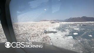 "NASA program ""OMG"" working to find how fast Greenland is melting"