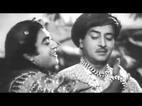 Aake Seedhi Lagi - Kishore Kumar Pran Half Ticket Comedy Song...