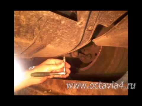 Видео как снять картер двигателя