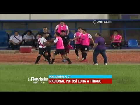 Nacional Potosí decide rescindir el contrato con Thiago Dos Santos