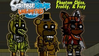 Scribblenauts Unlimited Speed Create Five Nights at Freddy