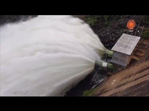 Abieron las válvulas del dique San Roque