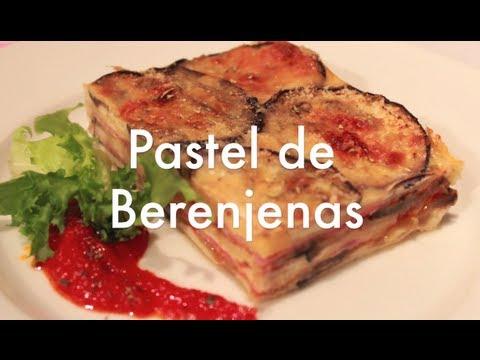 Pastel de berenjenas - Recetas de cocina fáciles y económicas