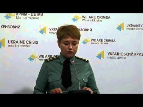 United briefing of ATO and Ministry of Defense speakers. Ukraine Crisis Media Center, 2-06-2015