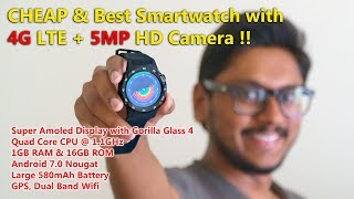 Cheap Android Smartwatch with 4G LTE & 5MP HD Camera...