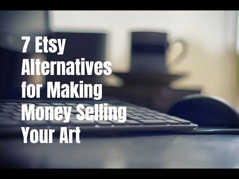 7 Etsy Alternatives for Making Money Selling Your Art