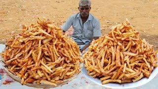 Perfect French Fries | Crispy French Fries Recipe Prepared by my uncle/food fun village