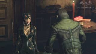 Batman: Arkham City - Easter Egg #20 - Catwoman Extra Dialogues