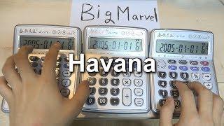 Camila Cabello - Havana 'Calculator Cover'
