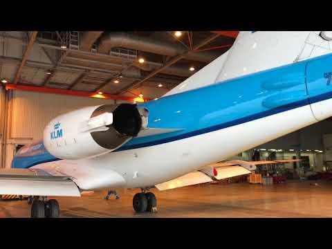 Afscheid met een traan van Fokker 70
