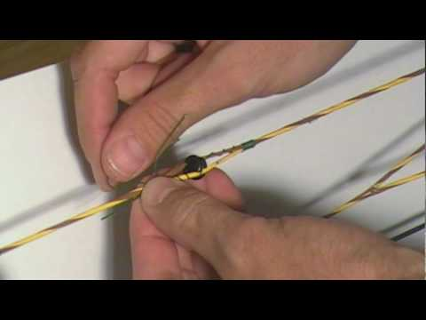 How to Serve/Tie a Peep Sight in a Bowstring