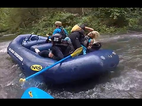 Never Seen Before: Sisters Scrap And Try To Drown Each Other While White Water Rafting [Video]