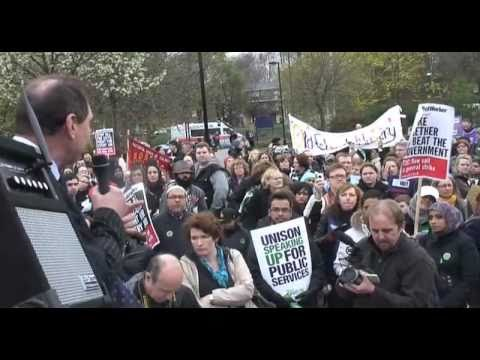 Tower Hamlets coordinated strike action - March 30th 2011