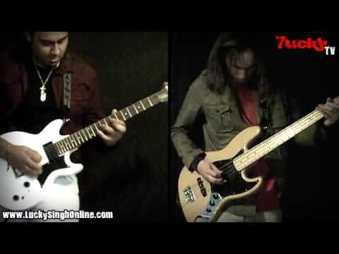 Paul Gilbert - The Curse of Castle Dragon Guitar&Bass Cover