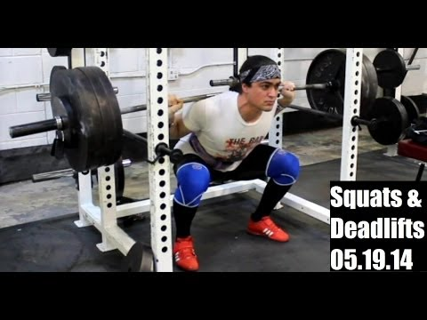 SQUATS & DEADLIFTS (Leg Training 19.05.14) Image 1