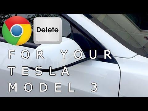 Chrome Delete for your Tesla Model 3 for $80 with 3M 1080 Satin Black Vinyl