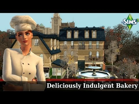 The Sims 3 Store: Deliciously Indulgent Bakery Venue - Review/Overview