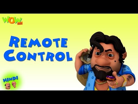 Remote Contol - Motu Patlu in Hindi - 3D Animation Cartoon for Kids -As on Nickelodeon thumbnail