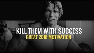 Grow your MIND and attract success NOW - ARNOLD SCHWARZENEGGER MOTIVATION