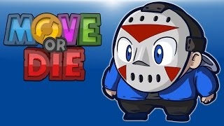 Move Or Die! EP. 5 (Playground Fight, Custom Characters!!) Delirious VS DoWrk Vs Nogla!