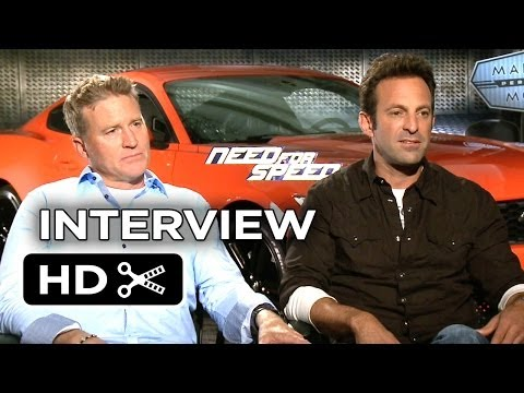Need For Speed Interview - Scott Waugh & Lance Gilbert (2014) - Aaron Paul Action Movie HD