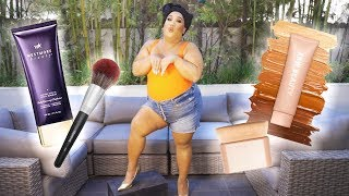 BODY MAKEUP CHALLENGE KKW VS. WESTMORE BEAUTY  | PatrickStarrr