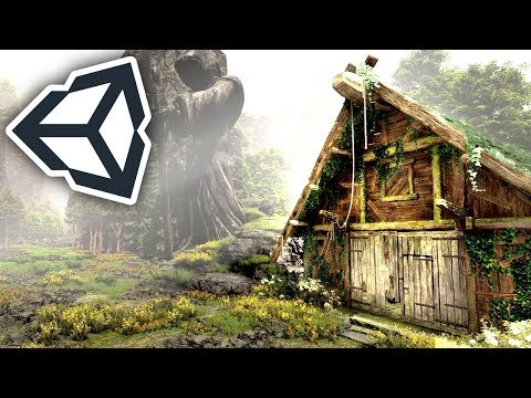Making a HOUSE & FOREST in Unity in 1 HOUR! | Speed Level Design