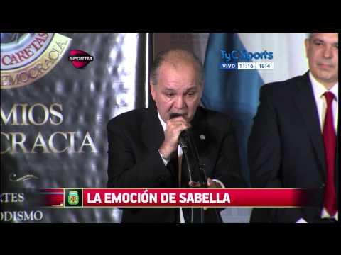 La emoción de Sabella hablando del Mundial