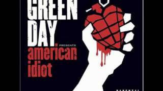 Watch Green Day Give Me Novacaine video
