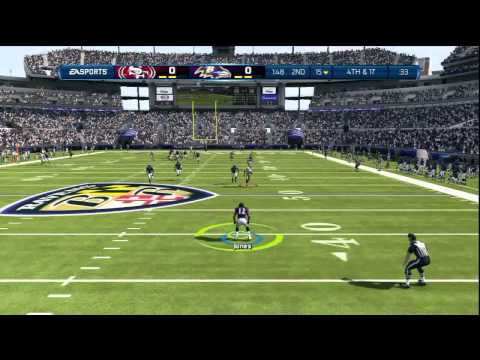 Madden 13 (DEFENSIVE AFFAIR) Subscriber Match (Ravens vs 49ers)