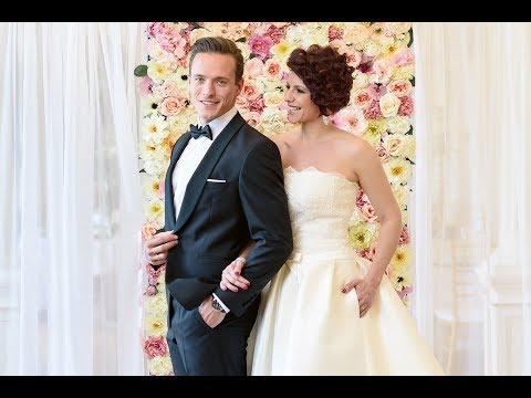 Amikor egy színdarab megelevenedik – Polyák Lilla és Gömöri András Máté esküvője a Városligetben