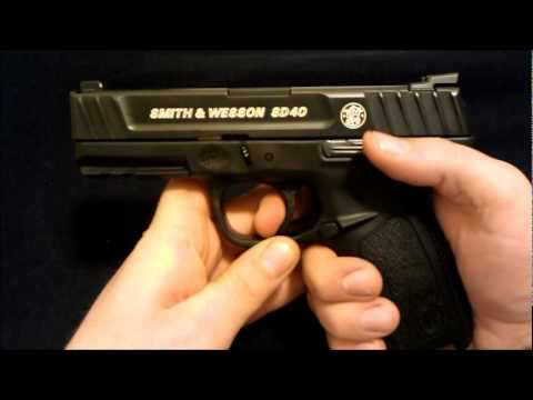 Smith and Wesson SD40 / SD9 Self Defense Series Review