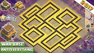 Download New COC Anti 2 & 3 Star Town Hall 8 War Base With Gear Up 2017 | TH8 War Base Anti Everything 3Gp Mp4