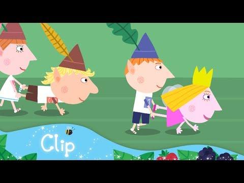 Ben and Holly's Little Kingdom - The Wheelbarrow Race
