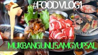 FoodVlog#1: MUKBANG UNLI SAMGYUPSAL @SAMGYUPSALAMAT! 🥓🥩 |#Sasai24