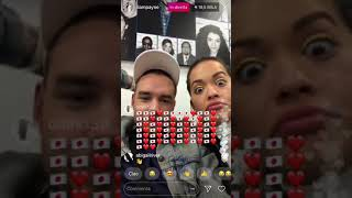 Download Lagu LIAM PAYNE AND RITA ORA LIVE ON INSTAGRAM 31-01-18 Gratis STAFABAND