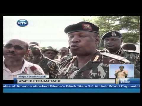 KTN Prime full bulletin 17th June 2014 (complete coverage of Mpeketoni attack)