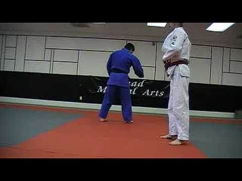 Judo: Sasae Tsuri Komi Ashi - Propping and drawing ankle Image 1