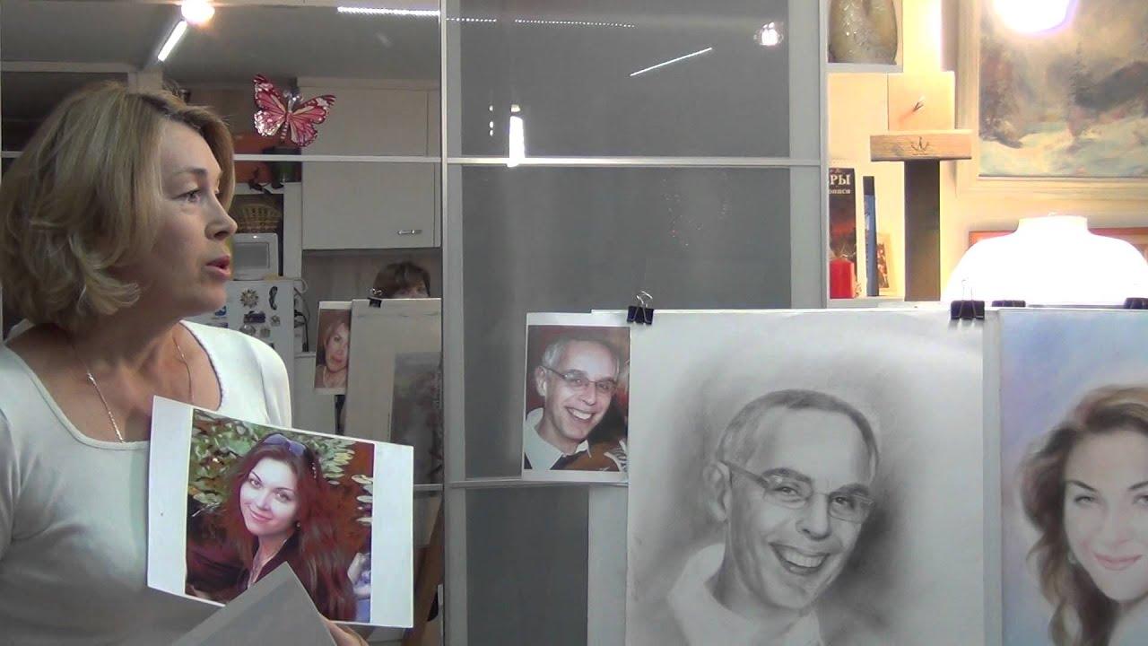 Мастер класс портрет фото