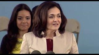 Facebook COO Sheryl Sandberg Commencement Speech | Harvard Commencement 2014