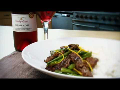 Shredded beef & seville orange stir-fry recipe from Waitrose