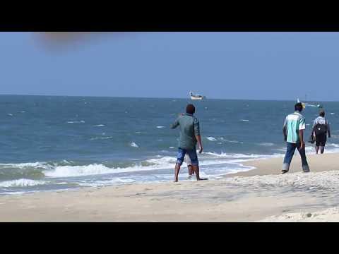 Kerala Alappuzha beach  HD Video 1080p