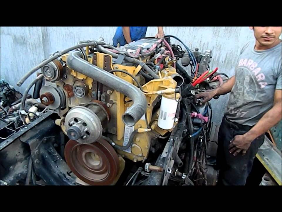 motor c7 caterpillar 350 hp 2005