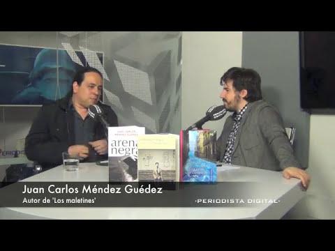 Juan Carlos Méndez, autor de 'Los maletines'. 21-4-2014