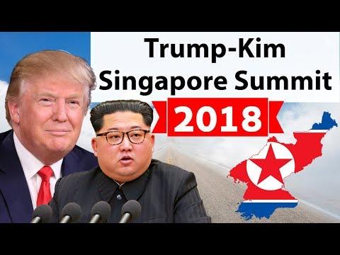 North Korea state TV reports on Trump Kim summit - BBC News