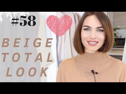#58 HOW TO STYLE BEIGE TOTAL LOOK | LOOKBOOK 2019