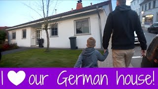 SEEING OUR GERMAN HOUSE FOR THE FIRST TIME