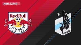 New York Red Bulls vs. Minnesota United FC | HIGHLIGHTS - April 6, 2019